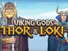 Игровой автомат Viking Gods: Thor and Loki от разработчика Playson – играйте онлайн